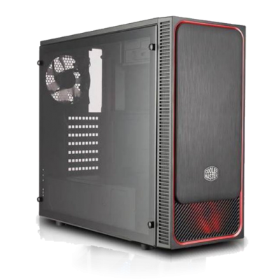 Phoenix Budget Gaming PC-Q050642-I3 9100F/AMD RX-550/8GB/240GB-SSD/500Watt/WIN10Home