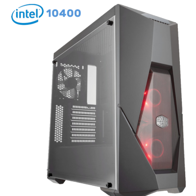 Phoenix Budget Gaming PC-Q055580–Intel I5 10400/1650/8GB/256GB-SSD/500watt/Win10Home