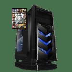 Phoenix Budget Gaming VORTEX V4 + GTA 5 – i5-9400/GTX1650/8GB/120GB-SSD/500watt/Win10