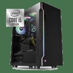 Phoenix Z49010G4 – INTEL i5 10600/GTX 1650-4GB/16GB/240GB-SSD/750watt/Win10Pro