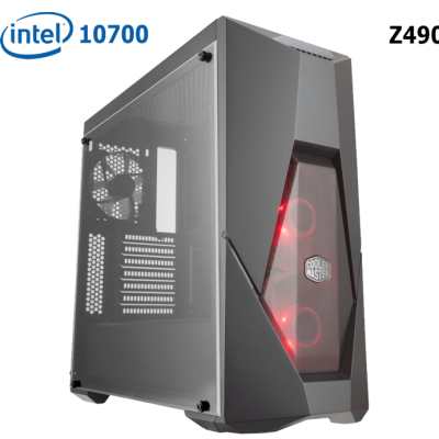 Phoenix PRO Gaming PC-Q057600-INTEL 10700/RTX2080 Super/16GB 3200Mhz/256GB-SSD/750watt/Win10PRO