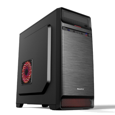 Phoenix Budget Gaming PC-QPPC1225-I3 9100F/AMD RX-550/16GB/240GB-SSD/600Watt/WIN10Home/BT/Wifi