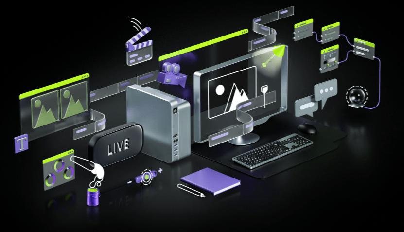 create with nvidia rtx 3070