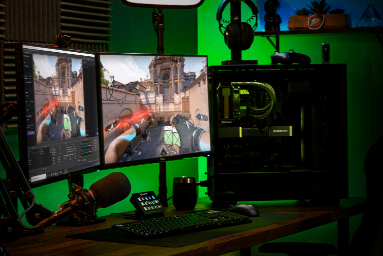 stream like a boss with a geforce rtx 3070 rtx 3080 rtx 3090