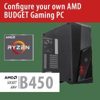 Build your own AMD BUDGET Gaming PC – B450/VORTEX/Win10HOME – BYO-VORTEXAMD01