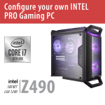 Build your own INTEL PRO Gaming PC – Z490/Q300P/Win10PRO – BYO-Q300PINTEL01
