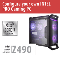 Build your own INTEL PRO Gaming PC – Z490/Q300P/Win10PRO – BYO-Q300PINTEL01