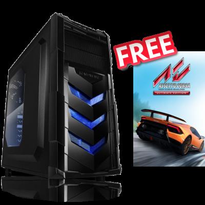 Phoenix VORTEX V4 – AMD Ryzen5/GTX1650/8GB/240GB-SSD/500Watt/Win10