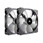 Corsair ML140 140mm PWM 400 – 2000 RPM Premium Magnetic Levitation Fan; Dual Pack