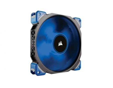 CORSAIR ML140 PRO; 140MM MAGNETIC LEVITATION CHASSIS COOLING FAN; BLUE LED; SINGLE. (CO-9050048)