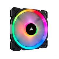 Corsair LL140 RGB 140mm Dual Light Loop RGB LED PWM 600 – 1300 RPM Cooling Fan