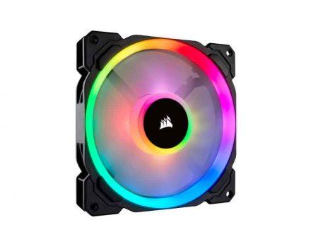 Corsair LL140 RGB 140mm Dual Light Loop RGB LED PWM 600 - 1300 RPM Cooling Fan (CO-9050073)
