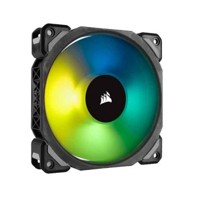 Corsair ML120 PRO RGB LED 120MM PWM 400 – 1600 RPM Premium Magnetic Levitation Fan