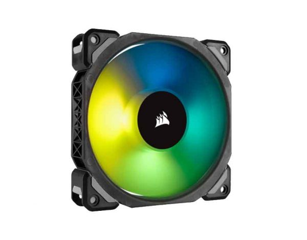 Corsair ML120 PRO RGB LED 120MM PWM 400 - 1600 RPM Premium Magnetic Levitation Fan (CO-9050075)