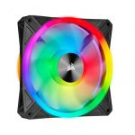 iCUE QL140 RGB 140mm PWM Single Fan.
