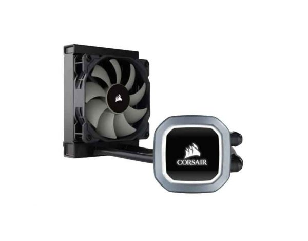 Corsair Hydro Series™ H60 120mm Liquid CPU Cooler; White LED; Single Fan (CW-9060036)