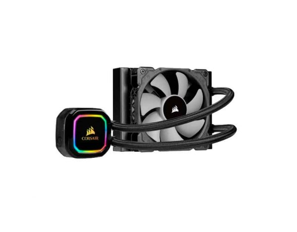 Corsair iCUE Series™ H60i Pro XT 120mm Liquid CPU Cooler; RGB; Single Fan (CW-9060049-WW)