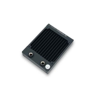 EKWB COOLSTREAM SE 120MM SLIMLINE (25MM); SINGLE WIDTH; STANDALONE RADIATOR (3831109860441).