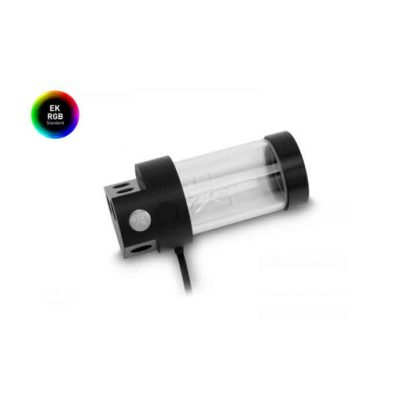 EKWB RES X3 150 STANDALONE ACRYLIC LIQUID RESERVOIR WITH RGB LIGHTING; 150MM INSTALLATION HEIGHT; 240ML CAPACITY (3830046992963)