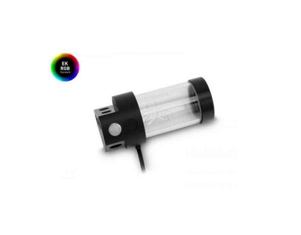 EKWB-RES-X3-150-STANDALONE-ACRYLIC-LIQUID-RESERVOIR-WITH-RGB-LIGHTING;-150MM-INSTALLATION-HEIGHT;-240ML-CAPACITY-(3830046992963)