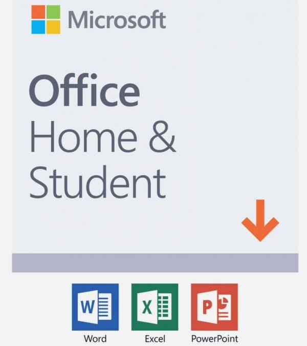 Microsoft Office Home Student Software -Digital Key